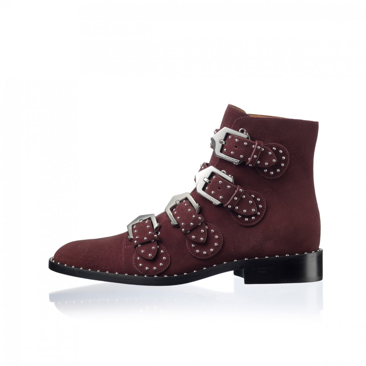 givenchy bordeaux støvle